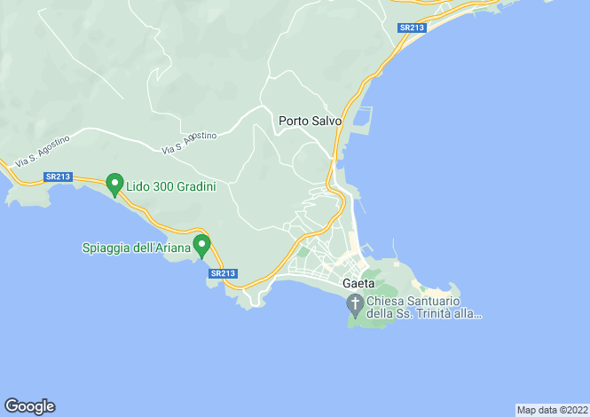 Map for Via Cuostile, Gaeta, 04024, Italy