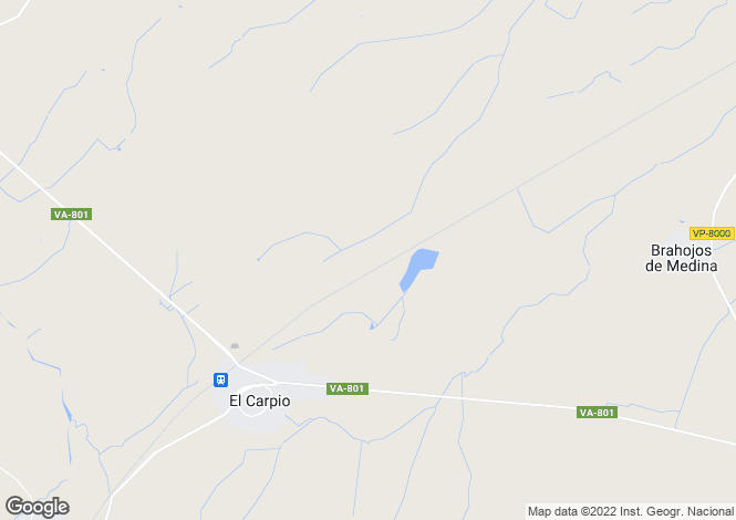 Map for Carpio, Valladolid, Castile-Leon