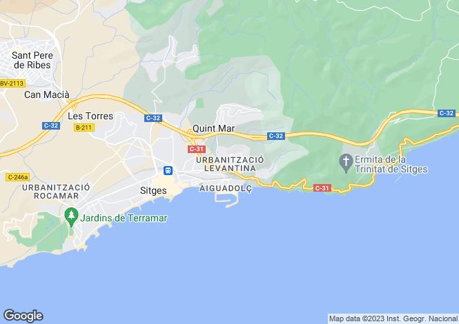 Map for Barcelona Coasts, Sitges, Sitges - Levantina