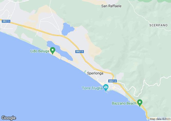 Map for Via Flacca, Sperlonga, 04029, Italy