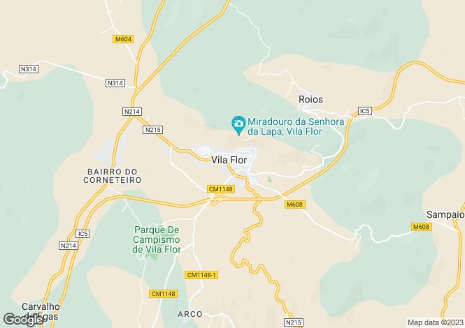 Map for Bragança, Vila Flor e Nabo, Vila Flor