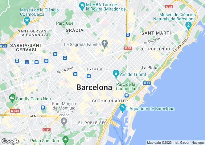 Map for Barcelona, Barcelona, 08026, Spain