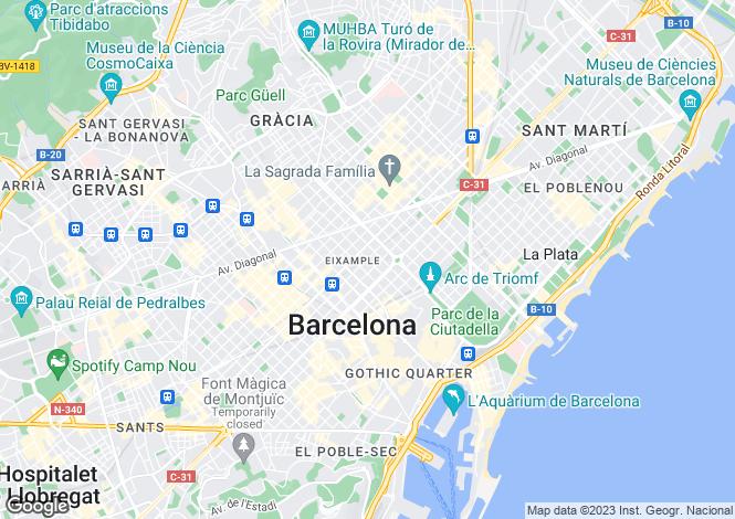 Map for Calle Girona, Barcelona, Barcelona, 08010, Spain