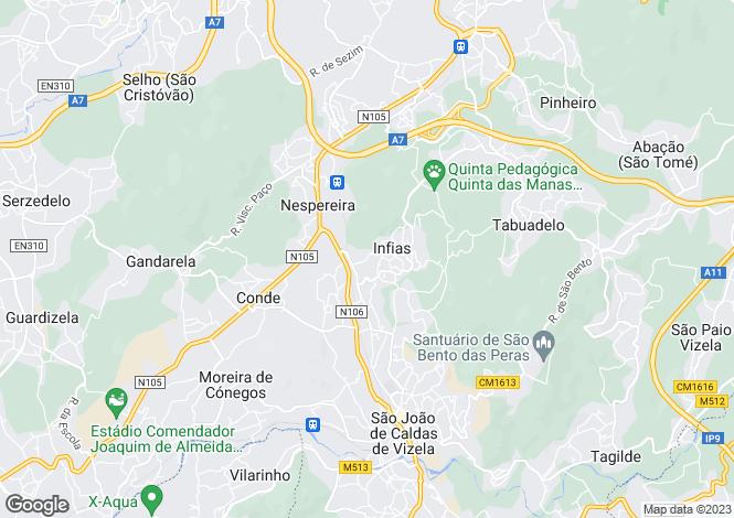 Map for Minho