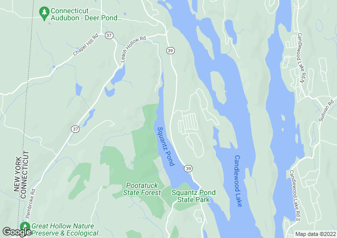 Map for USA - Connecticut