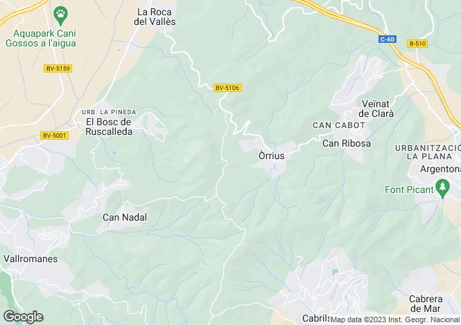 Map for La Roca Del Valles, Barcelona, Catalonia