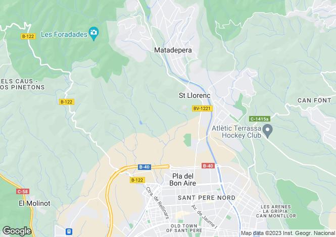 Map for Matadepera, Barcelona, Catalonia