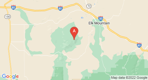 map of Elk Mountain (2) (United States of America)