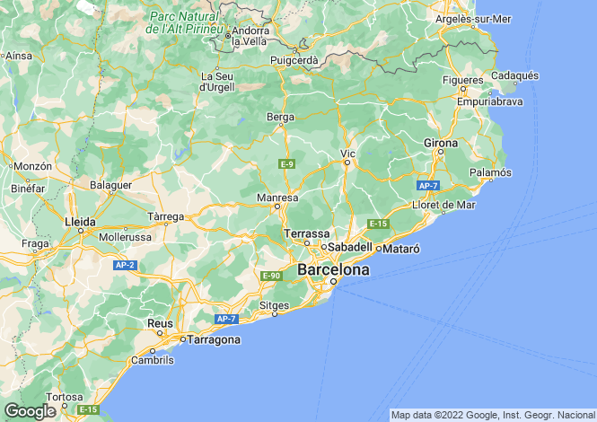 Map for Can Santa Digna,Spain