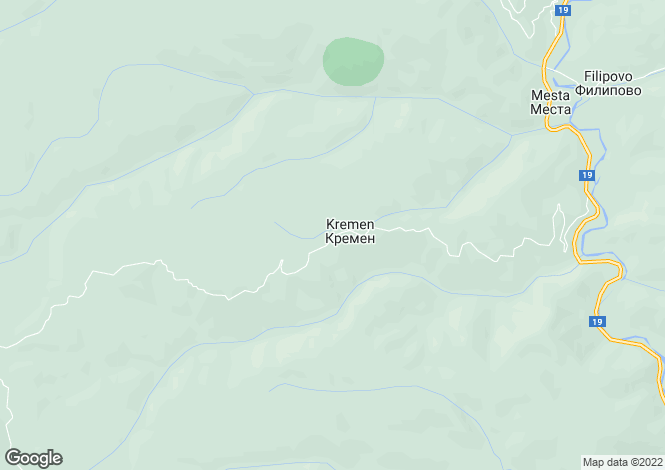 Map for Blagoevgrad, Kremen