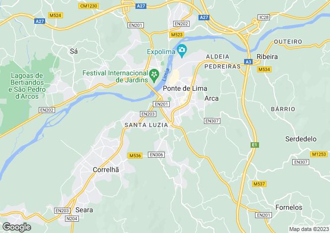 Map for Ponte De Lima, Viana Do Castelo, n/a, Portugal