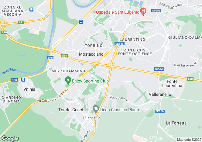 Map for V. Marcello Garosi, Roma, 00100, Italy