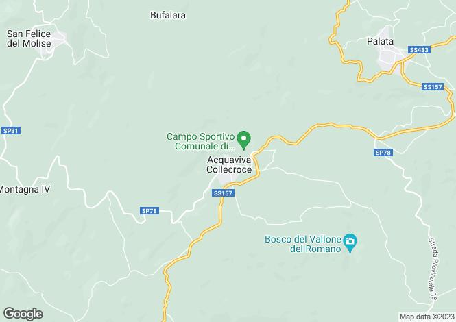 Map for Campobasso, Acquaviva Collecroce, Molise, CB86030