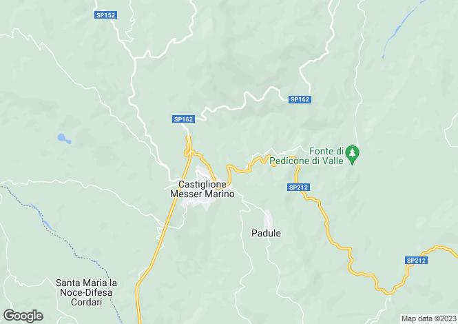 Map for Abruzzo, Chieti, Castiglione Messer Marino