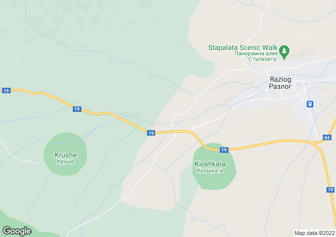 Map for Bansko, Blagoevgrad, Bg