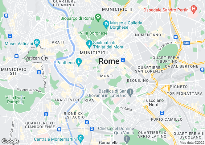 Map for Roma, Roma, Italy