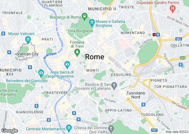 Map for Via Dei Capocci, Roma, 00100, Italy