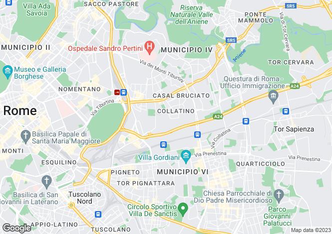 Map for Via Dei Cluniacensi, Roma, 00100, Italy