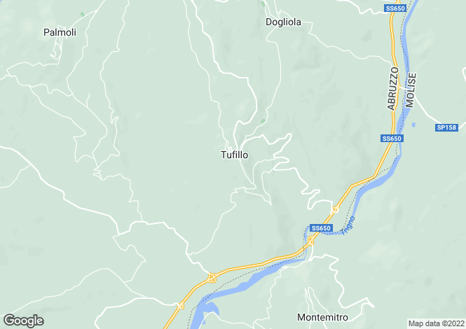 Map for Tufillo, Chieti, Abruzzo
