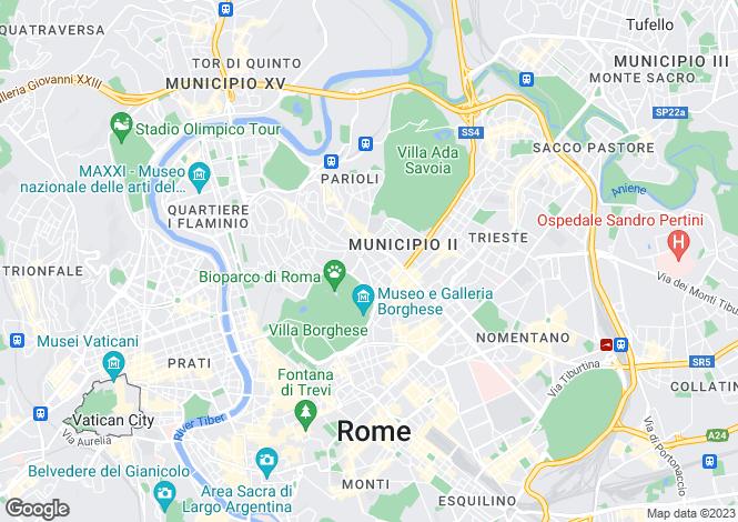 Map for Roma, Roma, Italy