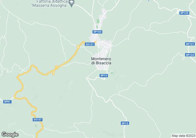 Map for Molise, Campobasso, Montenero di Bisaccia