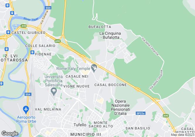 Map for Lazio, Rome, Roma