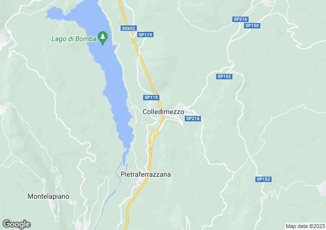 Map for Colledimezzo, Chieti, Abruzzo