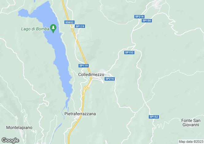 Map for Abruzzo, Chieti, Colledimezzo