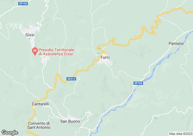 Map for Furci, Chieti, Abruzzo