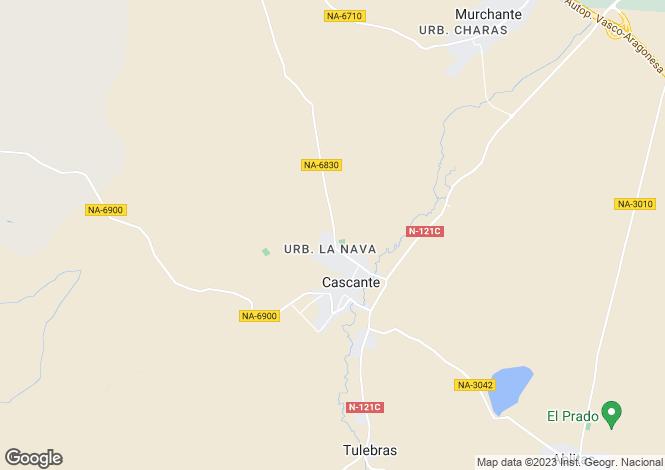 Map for Cascante, Navarra, Navarra