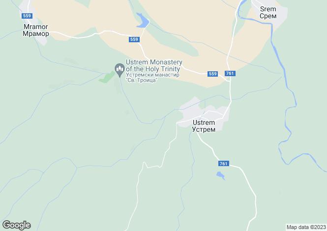 Map for Haskovo, Ustrem