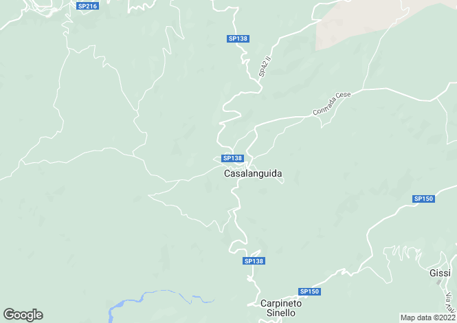 Map for Casalanguida, Chieti, Abruzzo