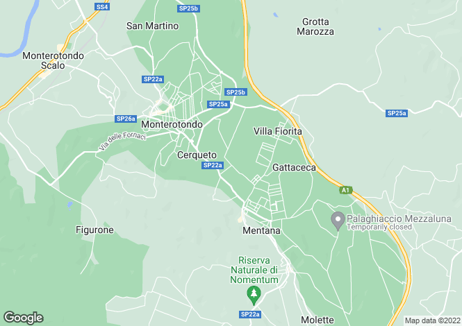 Map for Monterotondo,Italy