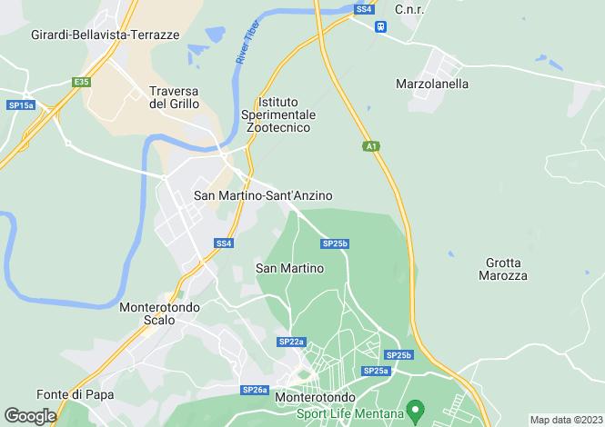 Map for Monterotondo, Rome, Lazio