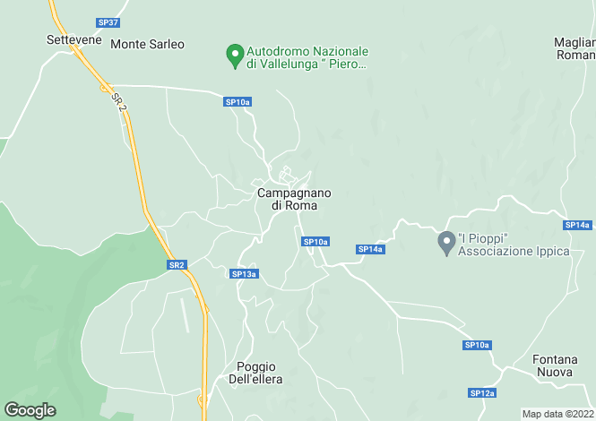 Map for Lazio, Rome, Campagnano di Roma