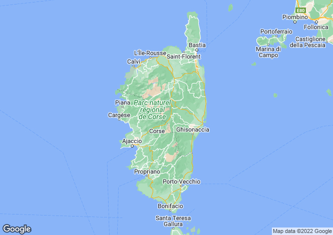 Map for CORSE, CORSE ,France