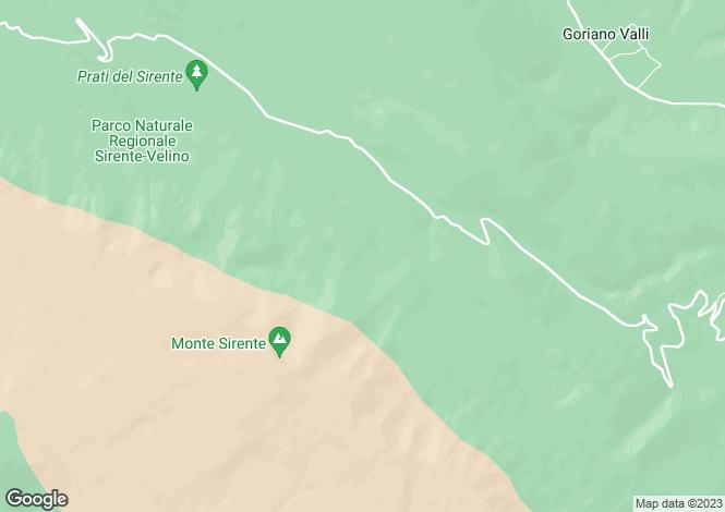 Map for Abruzzo, Laquila, Secinaro