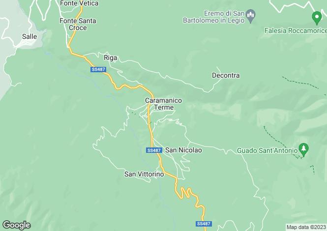 Map for Abruzzo, Pescara, Caramanico Terme