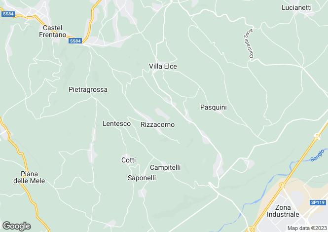 Map for Lanciano, Chieti, Abruzzo