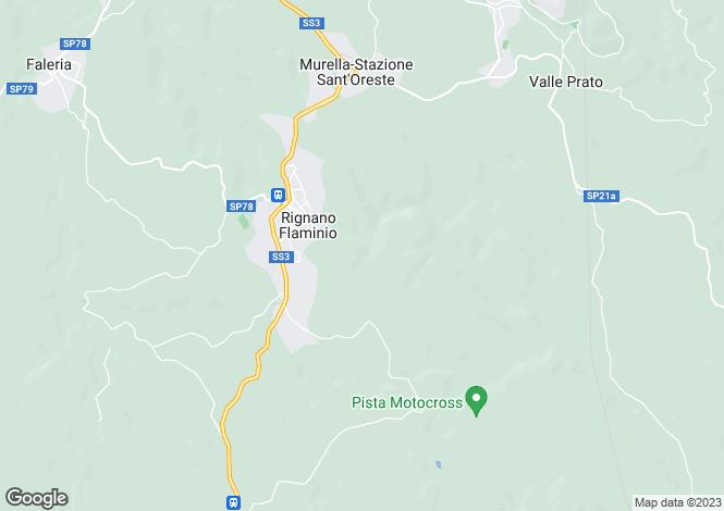 Map for Rignano Flaminio, Rome, Lazio