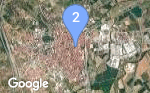 Google Map for Figueres, Catalonia, ES