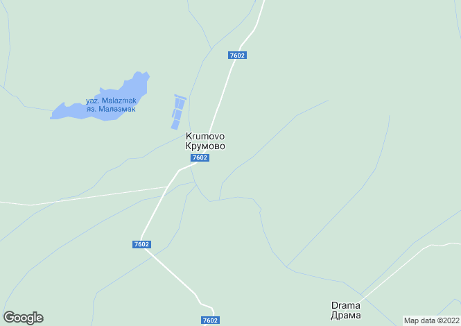 Map for Yambol, Krumovo