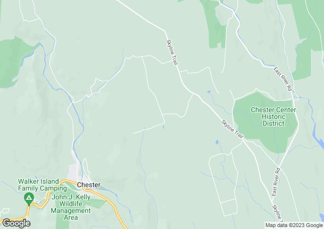 Map for USA - Massachusetts, Chester