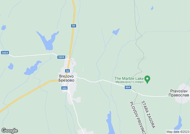 Map for Brezovo, Plovdiv