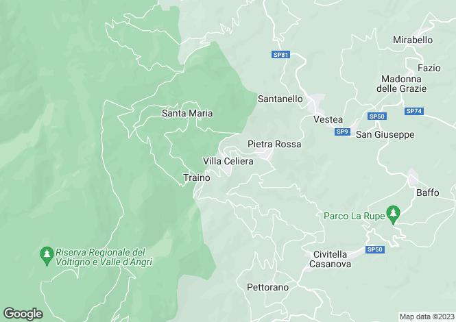 Map for Pescara, Villa Celiera, Abruzzo, PE65010
