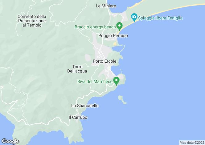 Map for Tuscany, Grosseto, Monte Argentario
