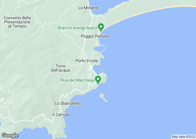 Map for Argentario,Italy