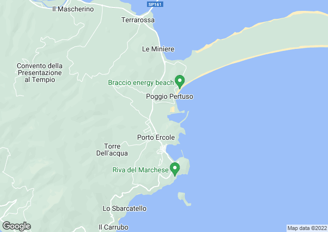 Map for Monte Argentario, Grosseto, Tuscany
