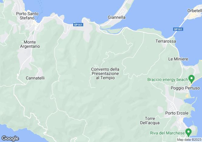 Map for Villa Archi, Monte Argentario, Italy