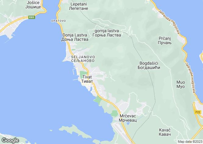 Map for Tara Residential Building, Tivat, Montenegro